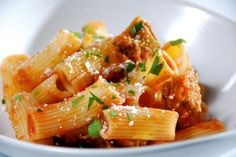 Get Sandra Lee's Online Round 2 Recipe - Crispy Eggplant and Pasta Recipe from Food Network