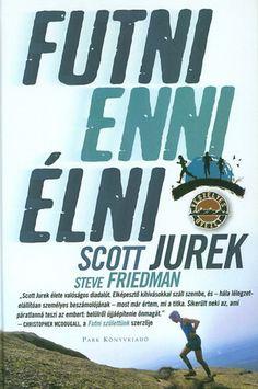 A Futni, enni, élni lapjain Scott Jurek úgy mesél az életéről és a pályafutásáról élsportolóvá és vegetáriánussá válásáról, hogy minden futó töltekezhet belőle, bárhol tart is a futásban. Beavat első futóélményeibe (utált futni), és leírja az utat, amely világversenyeken induló, rekordokat sorra döntő ultrafutót csinált belőle. Elbeszélése nemcsak azt bizonyítja, hogy vasakarat munkál benne, hanem fontos tévhiteket is eloszlat. Könyve bővelkedik a kitartás és a versenyszellem határait…