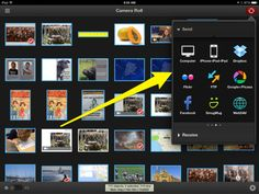 Simple Sharing of iPad Images and Videos: step-by-step options for getting student videos and photos off iPads.  Options for transferring to another iPad or to a desktop computer