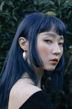 in this world so cruel Dye My Hair, New Hair, Hair Inspo, Hair Inspiration, Kreative Portraits, Hair Reference, Aesthetic Hair, Blue Hair, Pretty Hairstyles