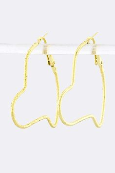 Checkout this amazing deal New Ladies Gold Tone HEART HOOP EARRINGS,$5.95