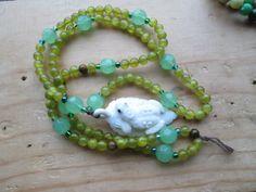 Frog Totem Mala by MagickAlive on Etsy, $65.00