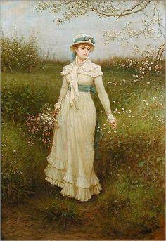George Henry Boughton - Springtime