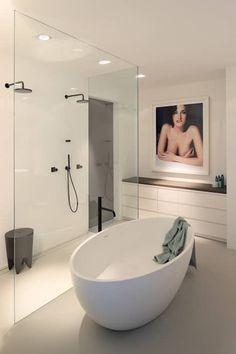 moderne Badezimmer von Koen Timmer