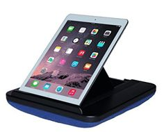 Prop 'n Go Slim - iPad Pillow with Adjustable Angle Control for iPad Air iPad mini iPad Pro iPhone Tablets eReaders and more (Blue) Price Tablet Stand, Ipad Stand, Iphone T, Best Ipad, Cell Phone Stand, Ipad Air, Computer Accessories, Smartphone, Pillows