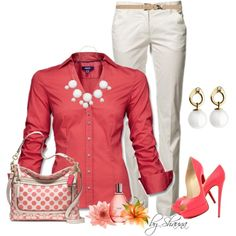 Work Outfit - Business Casual for Women  love the color via @Olesya Plotnikova Plotnikova Plotnikova Plotnikova Viestenz Eppes
