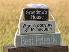 I wish I could give this to my gramma!