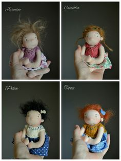 Teacup babies from the Ladybird Doll Studio