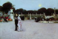 Browse through images in Treasury Classics Art's John Singer Sargent collection. John Singer Sargent was an American artist, acclaimed as the greatest portrait painter of his generation. John Singer Sargent, Sargent Art, Palais Du Luxembourg, Luxembourg Gardens, Artist Canvas, Canvas Art, Canvas Paintings, Framed Canvas, Watercolor Paintings