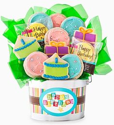 Make Someones Birthday Extra Sweet With Some Of Cheryls Buttercream Frosted Cookies