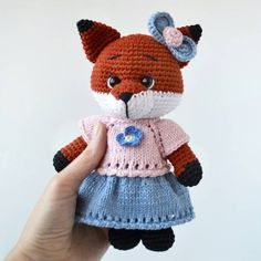 Beautiful amigurumi crochet fox pattern is waiting for you. Amigurumi knitted toy fox models are all made with Crochet Fox, Crochet Patterns Amigurumi, Crochet Hats, Popular Crochet, Fox Pattern, Warm Sweaters, Knitted Dolls, Hand Knitting, Full Set
