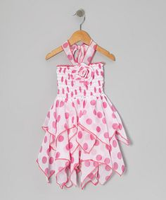 Anna has this in green. It is very cute on her! - Toddler & Girls by Lele for Kids on #zulily today!