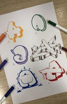 #alphabet #graffiti #graffitiart   #lettering #sketch Graffiti Tattoo, Graffiti Text, Graffiti Words, Graffiti Writing, Graffiti Tagging, Street Art Graffiti, Graffiti Art Drawings, Best Graffiti, Graffiti Artists