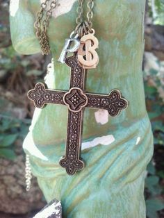 Proverbs 16:3- Christian cross necklace-Commit to the Lord whatever you do.