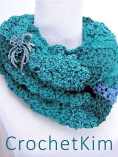 CrochetKim Free Crochet Pattern | Rockin' the Changes Infinity Scarf @crochetkim