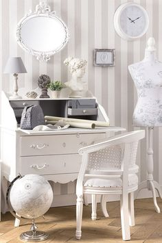 White shabby chic French style furniture Similar items available at www.melodymaison.co.uk