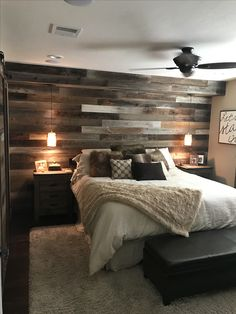 Smart Ways to Rustic Home Decor Ideas ~ 2019 If you would like to be authentic to your house's traditional design, wood windows with grilles are the thing to do. If you also need to redecorate yo… Smart Ways to Rustic Home Decor Ideas ~ 2019 Small Master Bedroom, Master Bedroom Makeover, Bedroom Ideas Master On A Budget, Country Master Bedroom, Master Bath, Ideas For Bedroom Walls, Beautiful Master Bedrooms, Romantic Master Bedroom Ideas, Ideas For Bedrooms