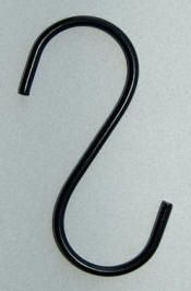 """The """"S"""" hooks cost £3.55 per pair including VAT.  90p Postage for a pair of """"S"""" Hooks."""
