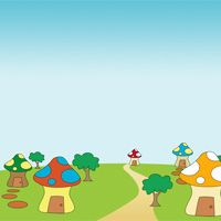 Create a Fantasy Village Suitable for the Smurfs - Photoshop Tutorial - Pxleyes.com