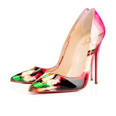 SO KATE VERNIS TIE AND DYE, MULTI, Vernis, Souliers Femme, Louboutin.