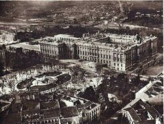 Palacio Real de Madrid en 1930