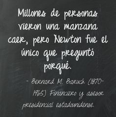 Bernard M. Baruch (1870-1965) Financiero y asesor presidencial estadounidense.  #citas #frases