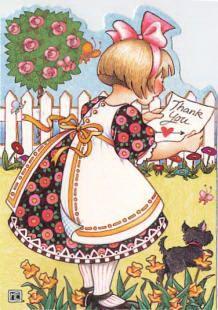 Mary Engelbreit Thank You Card