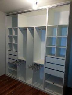 closet layout 776026579527204752 - new ideas shared bedroom closet organization wardrobes Source by MelodieHomeDecorIdeas Wardrobe Design Bedroom, Master Bedroom Closet, Bedroom Wardrobe, Wardrobe Closet, Closet Space, Master Bedrooms, Double Wardrobe, Closet Doors, Bedroom Doors