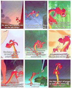 Mushu is my favorite Disney Character ever