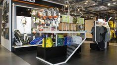 HEAD Switzerland – Shop in Shop Jelmoli, Zürich. Designkonzept inkl. Umsetzung by retailpartners ag