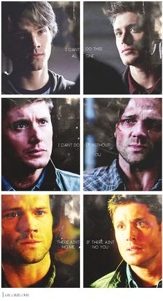 Can't do it without you #Supernatural #SPN