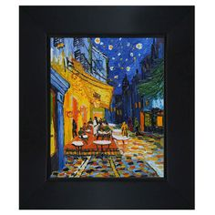 Found it at Wayfair - Cafe Terrace at Night I by Vincent Van Gogh
