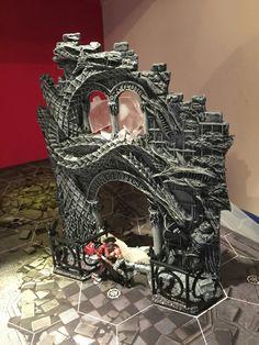 Warhammer Models, Wargaming Terrain, Dark Fantasy Art, Model Building, Underworld, Diorama, Tabletop, Nerdy, Boards