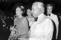 Princess Grace & husband Prince Rainier of Monaco