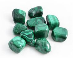 """Malachite: said to help bring transformation, breaks unwanted ties/worn out patterns.  See more at """"Zen with Donna"""" fb page."""