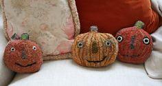 Hooked pumpkins