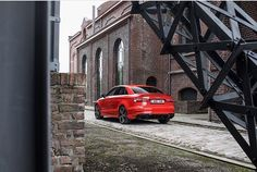 If you come into this alley - don't be afraid it does not bite   New S3 - sedan -  #redrs3 5 cylinder - 400hp - #quattrofun   @michaeldautremont  ---- oooo #audidriven - what else ---- . . . . #Audi #RS3 #newRS3 #newRS3sedan #AudiRS3 #RS3sedan #quattro #4rings #drivenbyvorsprung #Audicolor #carsbyaudisport #audisport #red #redcar #redaudi #blackoptics #audibelgium #belgium #belgique