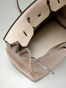 Hermes 40cm Togo Gris Tortorelle Birkin Bag by Hermes up to 60% off at Gilt