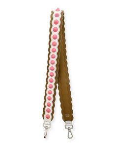 Strap You Wave Studded Shoulder Strap for Handbag, Multi