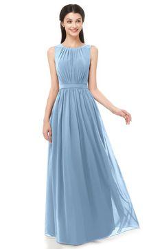 6eb6ca96d84b ColsBM Briar - Dusty Blue Bridesmaid Dresses
