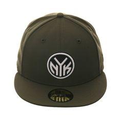 410ec5f7656 Exclusive New Era 59Fifty New York Knicks Token Hat - Olive