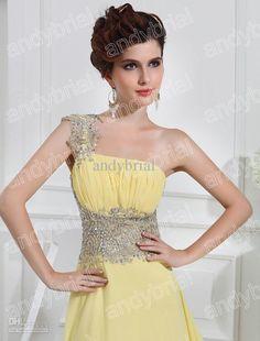 Top Glamorous One-shoulder Prom Dresses 2013 New Fishlike Hem Beaded Evening Party Dress Formal