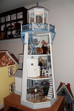 Lighthouse Dollhouse