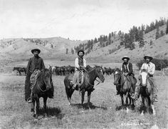 Real Old West Cowboys | cowboys on cattle drive 1879 manufacturer n a sku cowboys on cattle dr ...