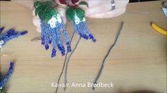 Глициния из бисера. Часть 2/2. Wisteria out of beads. Part 2/2.