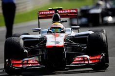 F1 Italian GP - Race winner Lewis Hamilton (GBR) McLaren MP4-27 celebrates in parc ferme.  Formula One World Championship, Rd 13, Italian Grand Prix, Race, Monza, Italy, Sunday, 9 September 2012