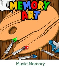 This kids memory game is a clone of the famous game Simon. Online Games For Kids, Memory Games For Kids, Music For Kids, Printable Activities For Kids, Kids Learning Activities, Picture Comprehension, Word Search Puzzles, Early Learning, Art Music