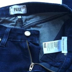 Paige peg super skinny jeans Beautiful dark wash skinny jeans. Super soft denim with some stretch. Dressy jeans that are great for any occasion! Could possibly fit a 27. Paige Jeans Pants Skinny