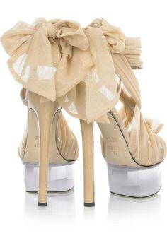 Fendi-Tulle-embellished-suede-sandals