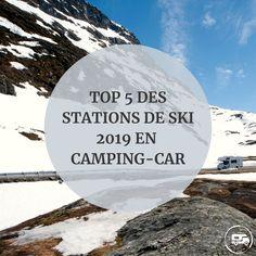 Nous vous avons concocté un Top 5 des stations de ski qui vous accueillent en camping-car. Ces stations proposent des aires de qualité aux camping-caristes et permettent de passer un séjour au ski en camping-car dans d'excellentes conditions ! Stations De Ski, Photos Voyages, Camping Car, Digital Nomad, Mount Everest, Skiing, Images, Top 5, Celestial